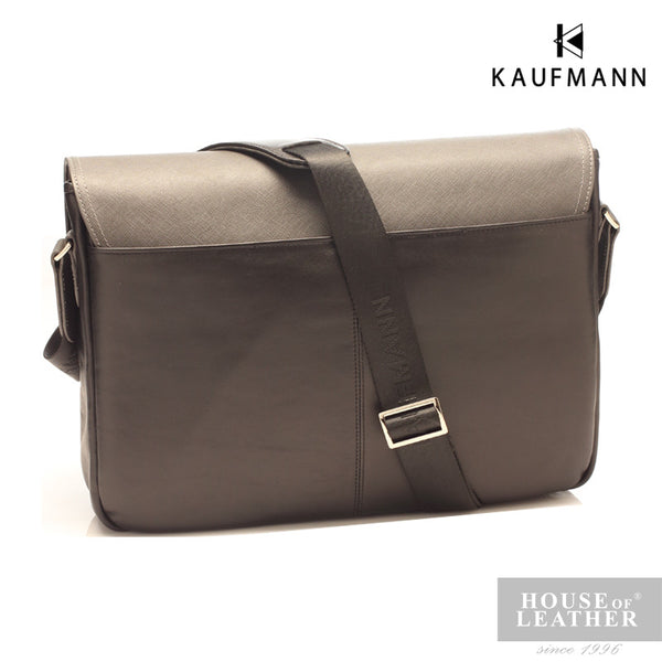 KAUFMANN McLaren M140959F Sling Bag - Black - Leatherhouse2u  - 4