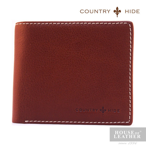 COUNTRY HIDE Louis M203 Wallet - Brown - Leatherhouse2u  - 1