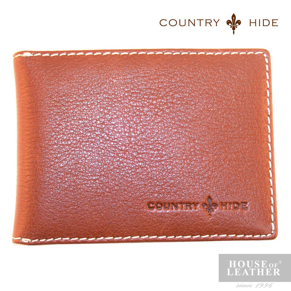 COUNTRY HIDE Louis M204 Card Holder - Brown - Leatherhouse2u  - 1