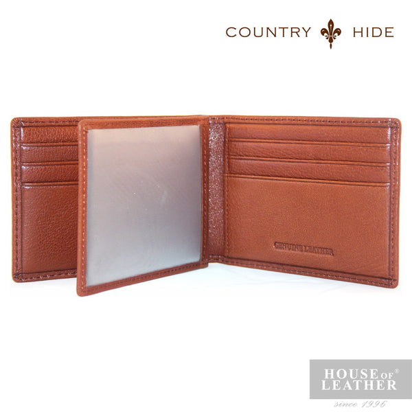 COUNTRY HIDE Louis M204 Card Holder - Brown - Leatherhouse2u  - 2