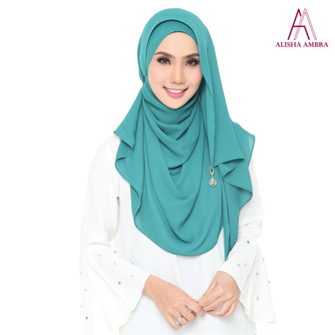 MISS ALISHA PREMIUM - Emerald Green - Leatherhouse2u  - 1