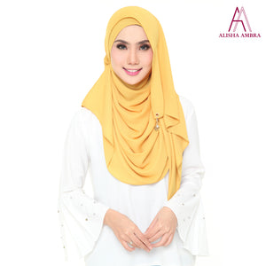 MISS ALISHA PREMIUM - Golden Mustard - Leatherhouse2u  - 1