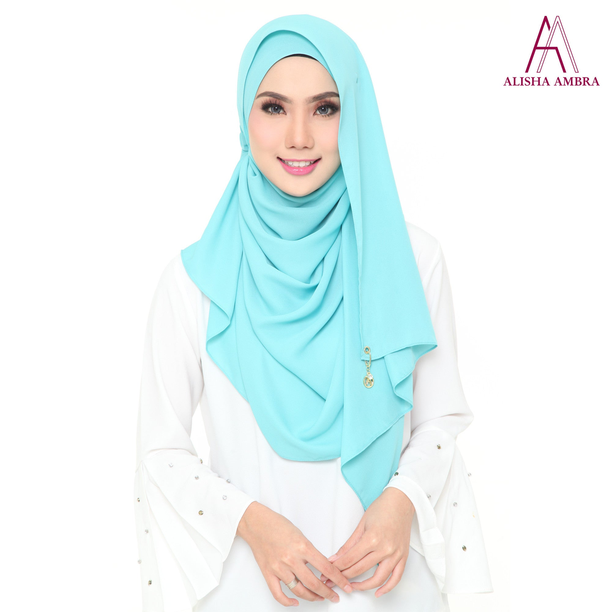MISS ALISHA PREMIUM - Tiffany Blue - Leatherhouse2u  - 1