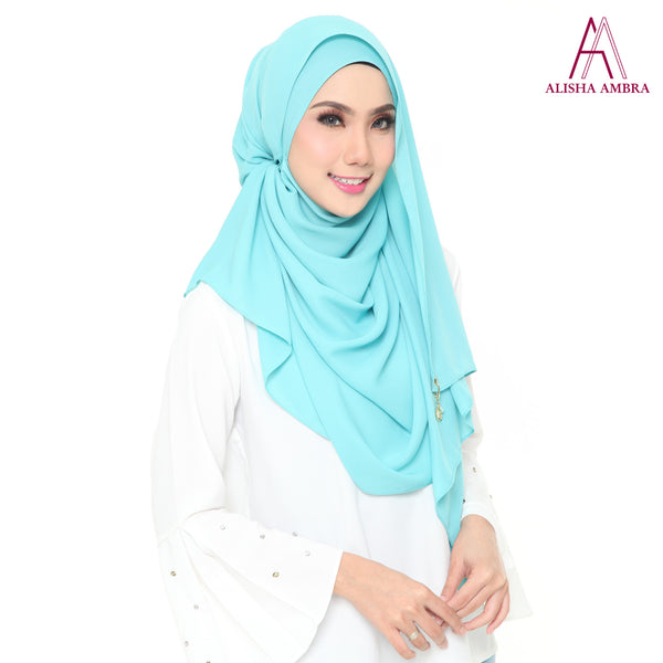 MISS ALISHA PREMIUM - Tiffany Blue - Leatherhouse2u  - 2