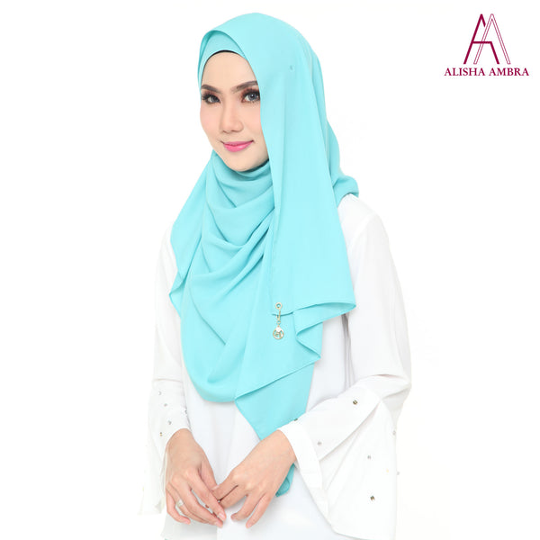 MISS ALISHA PREMIUM - Tiffany Blue - Leatherhouse2u  - 3
