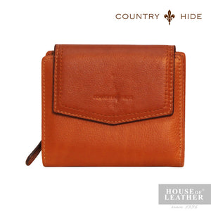 COUNTRY HIDE Lusia YS-48-28-1680 Wallet - Dark Brown - Leatherhouse2u  - 1