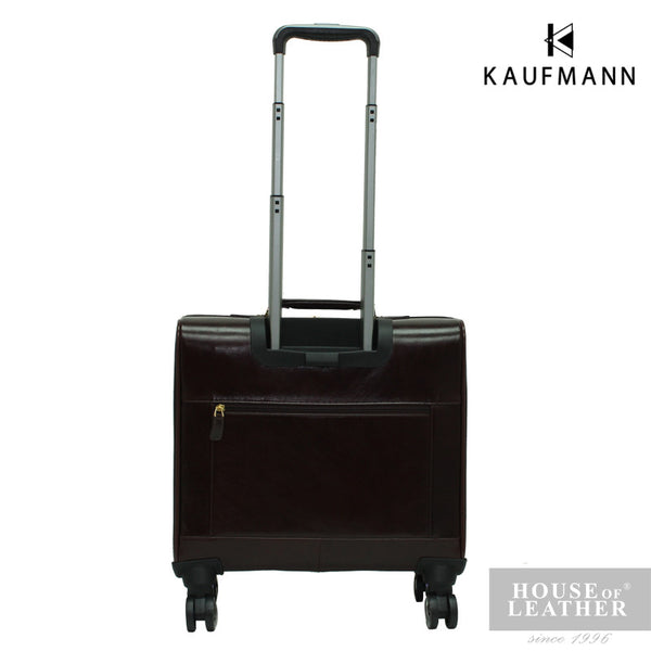 KAUFMANN KINGSTON YS-39-33-1715 TROLLEY CASE - DARK BROWN