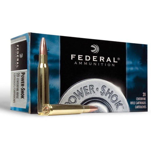 Federal Power-Shok .30-06 Spr Ammunition