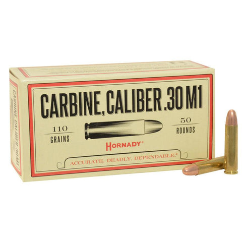 Hornady Custom .30 Carbine Ammunition