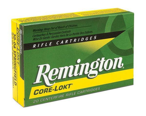 Remington Core-Lokt 7mm-08 Rem Ammunition