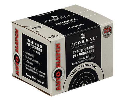 Federal AutoMatch .22 LR Ammunition