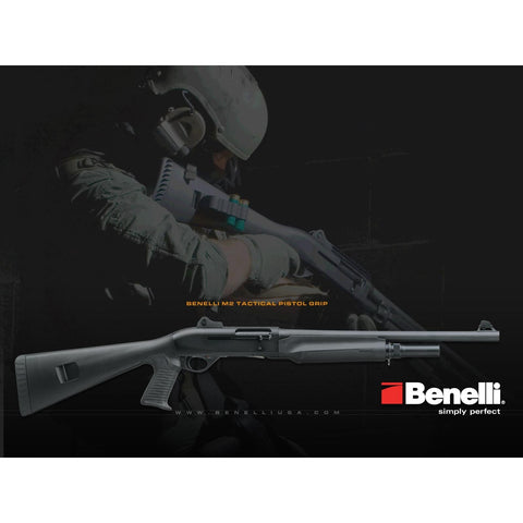 Benelli Shotgun M2 Tactical with Pistol Grip Stock