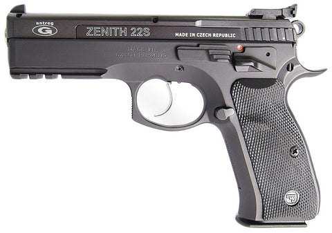 CZ 75 SP-01 Shadow + Antreg Zenith .22lr Conversion