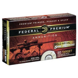Federal Premium Gold Medal Sierra MatchKing .308 Win Ammo