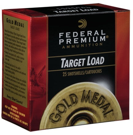 Federal Gold Medal Target Load 28ga 2 3/4in Shotshells