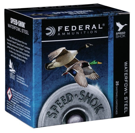 Federal Speed-Shok 12ga 3in Shotshells