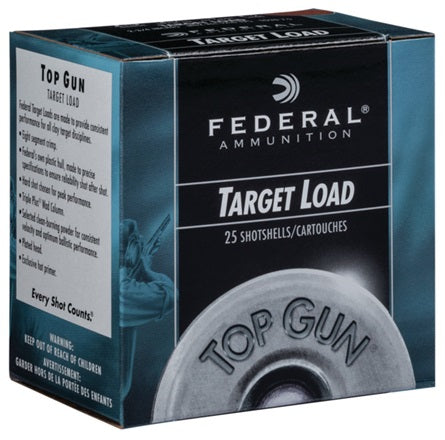 Federal Top Gun Target Load 20ga 2 3/4in Shotshells