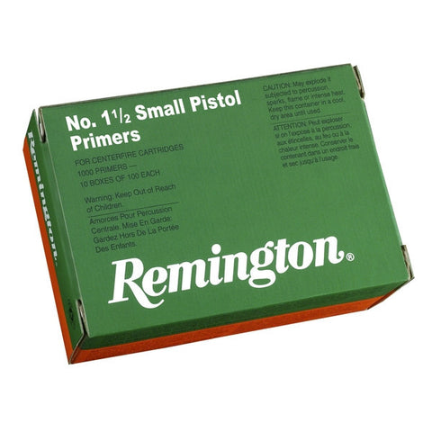 Remington No. 1 1/2 Small Pistol Primers