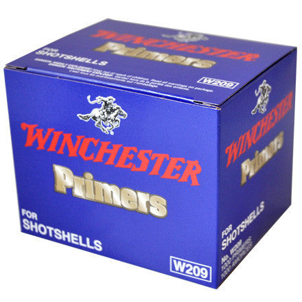 Winchester No. W209 Primers for Shotshells