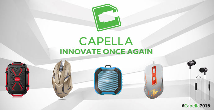 Innovate Once Again: Capella 2016 Line-up