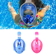 Load image into Gallery viewer, Smaco M2069G Kids Full Face Snorkeling Mask - Blue