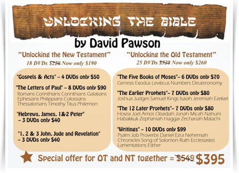"David Pawson ""Unlocking the Bible"""