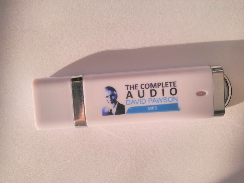 "David Pawson- 64GB ""The Complete Audio""  USB stick"