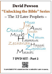"David Pawson ""unlocking the bible""-The 12 Prophets DVD set - Inspirational Media  - 2"