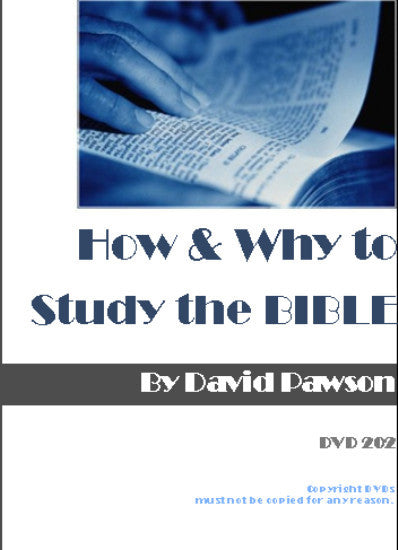 David Pawson - How & Why Study Bible - Inspirational Media