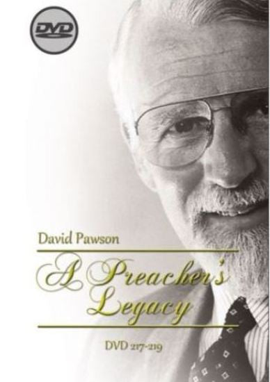 David Pawson-A Preacher's Legacy (3 DVDs) - Inspirational Media