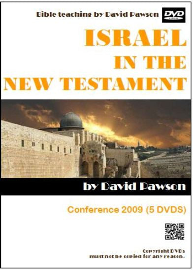 David Pawson - Israel in the New Testament (5 DVDs) - Inspirational Media