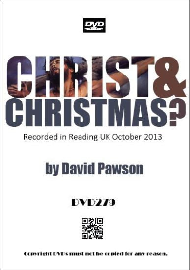 David Pawson Sermon - Christ & Christmas? - Inspirational Media