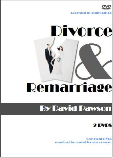 David Pawson Sermon-Divorce And Remarriage - Inspirational Media