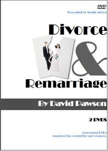 David Pawson Sermon-Divorce And Remarriage