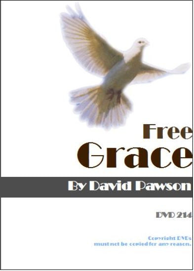 David Pawson Sermon-Free Grace - Inspirational Media