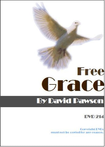 David Pawson Sermon-Free Grace