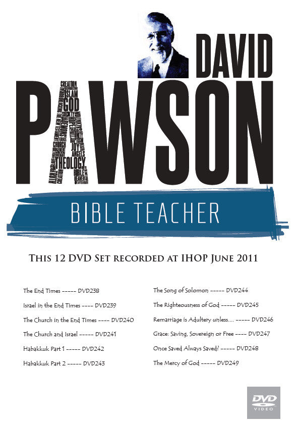 David Pawson Sermon-2011 IHOP 12 DVDs Set - Inspirational Media