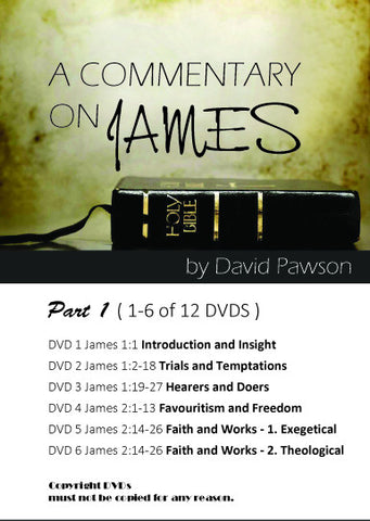 David Pawson - *NEW*A Commentary on James