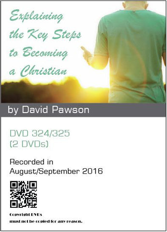 David Pawson - Explaining the Key Steps to Becoming a Christian