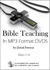 David Pawson 1100+ MP3 audios in 7 data DVDs - Inspirational Media  - 1