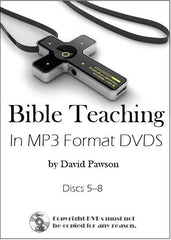 David Pawson 1100+ MP3 audios in 7 data DVDs - Inspirational Media  - 2