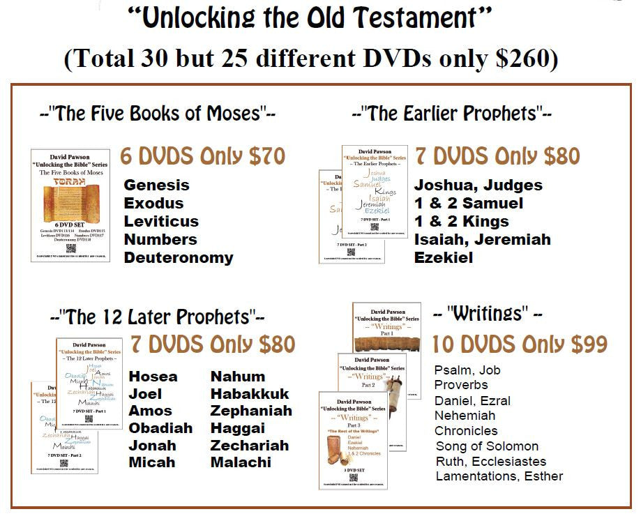 "David Pawson ""Unlocking the Old Testament"""