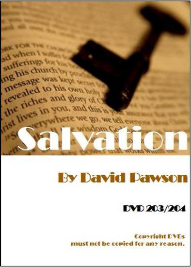 David Pawson Sermon-Salvation (2DVDs) - Inspirational Media