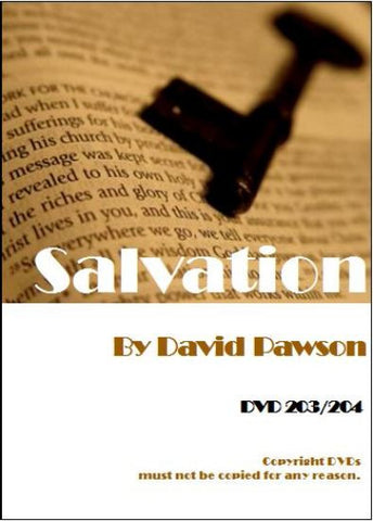 David Pawson Sermon-Salvation (2DVDs)