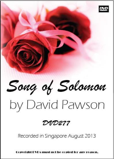 David Pawson Sermon-Song of Solomon - Inspirational Media