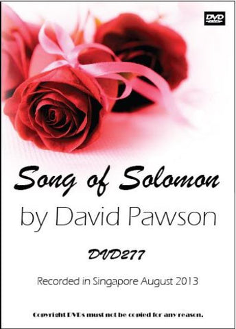 David Pawson Sermon-Song of Solomon