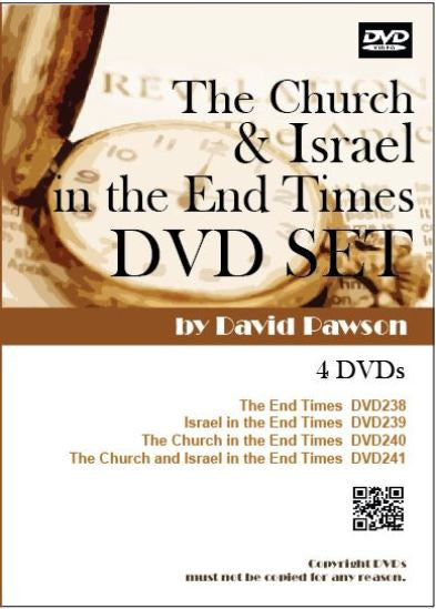 David Pawson - The Church & Israel in the End Times DVD Set - Inspirational Media