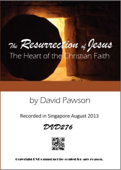 David Pawson - The Resurrection of Jesus -- The Heart of the Christian Faith - Inspirational Media