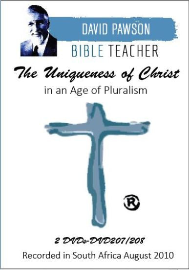 David Pawson -The Uniqueness of Christ in the Age of Pluralism (2DVDs) - Inspirational Media