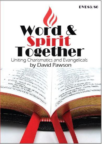David Pawson - Word and Spirit Together--Charismatics & Evangelicals (2 DVDs) - Inspirational Media